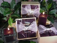 4-Pack of Square Votives Patchouli Scent Candle by Unique Aromas. $19.88. Patchouli scent. Price per set candle. Candle color may vary from photograph. This set of candles is sure to bring joy and warmth to all those in the presence of them. Pack of 4 candles.Some assembly may be required. Please see product details.Some assembly may be required. Please see product details.