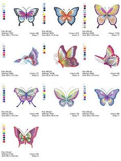 Dreams Free Embroidery: Butterfly Free Embroidery