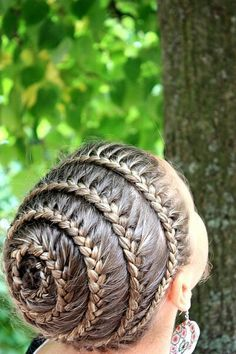 Infinity crown braid.