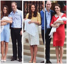21/04-2018. Now with 3 children Kate & William
