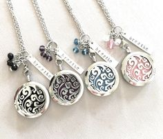 A personal favorite from my Etsy shop https://www.etsy.com/listing/502919823/essential-oil-diffuser-locket-necklace