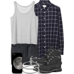 Scott Inspired Outfit with Black Timberlands