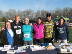USO Volunteers - 10 Miler Race in Ft. Campbell, KY.