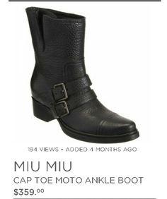 Miu miu boots Emma Swan style