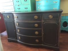 "OMG I love this piece! It is a Duncan Phyfe buffet and it would be amazing in your dining room or living room and someone even mentioned in an entryway. What do you think?  The dimensions are 60"" L, 21"" W, 36"" H. SOLD!! for $325"