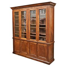 French Louis Philippe Period Bibliothèque or Bookcase at 1stdibs