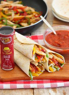 Fajitas mexicanas de pollo y verduras  / Mexican Fajitas with Chicken and Vegetables #smokedpaprika #pimentónahumado #lachinatacom #originalrecipes