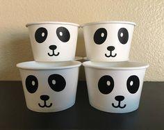 Panda Party Snack Cups, Panda Birthday Party