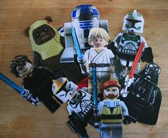 Lots of great ideas for a Lego Clone Wars party