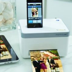 Iphone photo printer! I so need one of these!