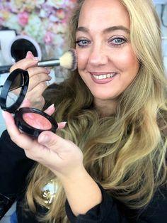 Wearing Laura Geller october 2020 QVCUK TSV Kajal Eyeliner, Baked Blush, Glow Foundation, Subtle Highlights, Dark Skin Tone, Laura Geller, Pink Grapefruit, Long Lashes, Color Blending