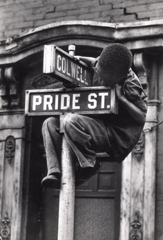 W. Eugene Smith - Pride Street, 1955 #Photography