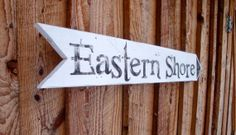 Eastern Shore Maryland Virginia Sign by SignUpNow on Etsy, $24.00