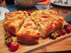 香草蘋果隱形蛋糕
