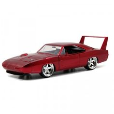 A die-cast car based on Dominic Toretto's car in the movie Fast & Furious 6.
