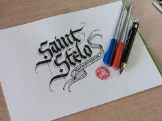 Sketches & Logos 2013 by Jackson Alves, via Behance