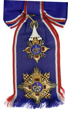 ORDER OF THE THAI CROWN : Lot 2607 Thailand