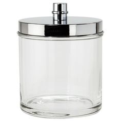 $12.99 Threshold Oilcan Bath Canister from Target (in the bathroom for cotton balls or q-tips)