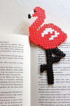 pfefferminzgruen: Lesezeichen aus Bügelperlen