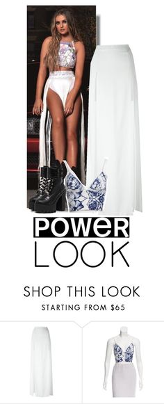 """Little Mix's Power ; perrie"" by ines-lynch ❤ liked on Polyvore featuring Chalayan, Clover Canyon, girlpower and powerlook"