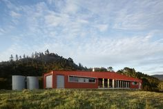 Puketui Valley House | RTA Studio New Zealand Architecture, World Architecture Festival, Narrow House, House Drawing, House Made, Exterior Design, Brunswick Heads, Outdoor Structures, House Design