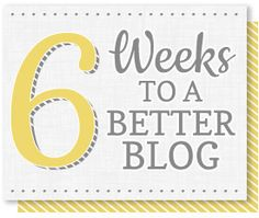 6 Weeks Design Tip: Create & Add a Blog Button