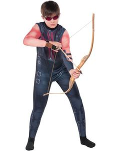 Boys Hawkeye Costume - The Avengers-Party City