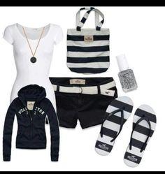 Love the sweatshirt! #hollister #outfits #fashion