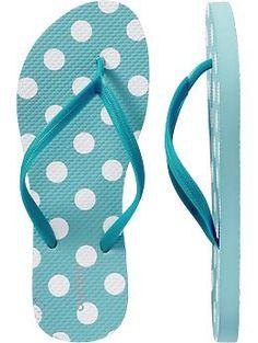 Old Navy Flip Flops for Shower