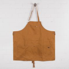 Dickies Apron Brown Duck Front