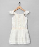 Emma Levine Cream Gracie Dress