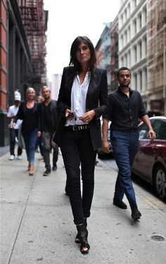 Emmanuelle Alt// Editor-in-Chief of Vogue Paris