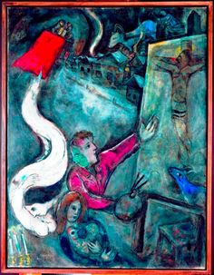 Marc Chagall - The Soul of the City, 1945