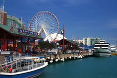 Visit Navy Pier, Chicago, Illinois - Bucket List Dream from TripBucket