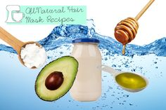 "Strengthening Mask  For overworked and processed hair, protein-rich egg is nature's miracle. ""It smoothes damaged cuticles to restore strength and shine,"" Asemanfar says. Whisk together one egg, a tablespoon each of coconut oil, olive oil and honey, and two ounces of water. Add one half of a mashed banana and stir until the mask is smooth. Apply to strands for 15 minutes, then shampoo as usual."