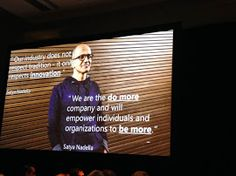 - president at keynote - Microsoft, Keynote, Stuff To Do, Ms, Signs, Tecnologia, Novelty Signs, Signage, Dishes