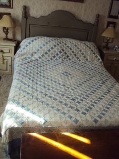 Cathedral Window Double Bed Quilt
