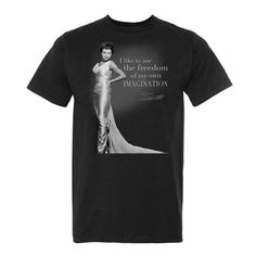 It is definitely T-Shirt weather! Shop our collection of #EarthaKitt T-Shirts and Tanks. #AccessoriesthatSAYsomething