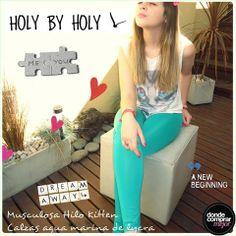 ¡Nos encantó este look de Holy By Holy Indumentaria! ¡Esa remera es irresistible! ¿A vos qué te parece?