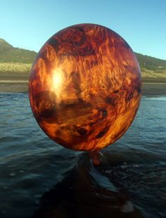 Swamp Kauri Abstract Sculpture, Planets, Globe, Celestial, Outdoor, Outdoors, Balloon, Outdoor Games, Outdoor Life