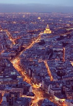 Paris before dark- My favorite place and time of all