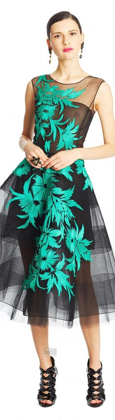 Oscar de la Renta Pre-Fall 2015-16 collection
