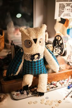 Handmade dolls. Amazing dolls by Olga wassupbrothers on etsy!