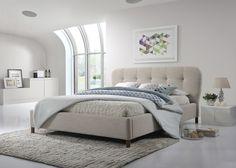 Amato King Upholstered Platform Bed
