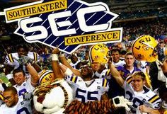 LSU Tigers Football - here's to hoping we not only win the SEC again next year, but bring home the BCS crown too!