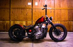 Honda Shadow Bobber.