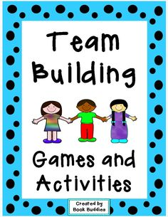 Lots of fun back to school team building activities get your kids up and moving, plus small group and partner team building projects for the first days of school.  Great opportunities for your kids to get to know each other while working together. $