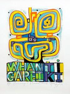 Dick Frizzell print Nz Art, Maori Art, Art Forms, Screen Printing, Design Inspiration, Artwork, Kiwi, Painting, Image