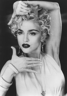 Madonna using moves of Vugue dance style