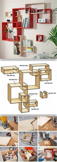 Build Modular Shelves - Furniture Plans and Projects | WoodArchivist.com #ad